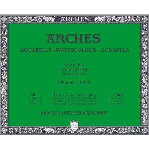 Arches Aquarelle – Blocco da Disegno per Acquarelli Grana Fina cm 41×51
