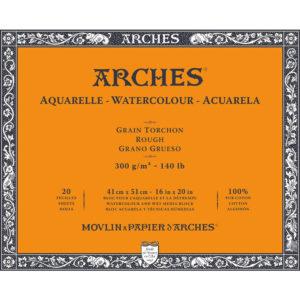 Arches Aquarelle – Blocco da Disegno per Acquarelli Grana Grezza cm 41×51