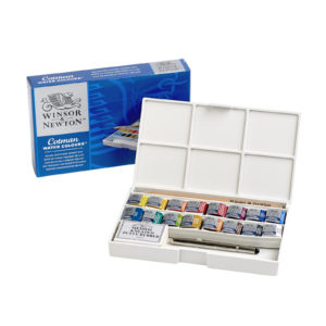 Winsor&Newton Water Colours Deluxe Sketchers' Pocket Box