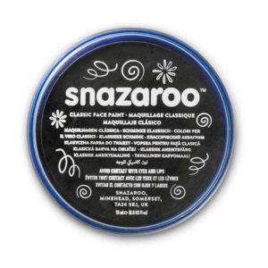 Snazaroo Trucco per viso e corpo in pasta 18ml nero