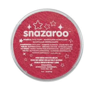 Snazaroo Trucco per viso e corpo in pasta 18ml rosso brillante