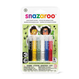 Snazaroo set 6 stick colori per viso