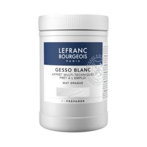 Fondo Gesso Bianco Lefranc & Bourgeois, imprimitura universale pronta all'uso