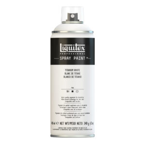 Liquitex Colore Acrilico Spray Paint 400 Ml –  Titanium White