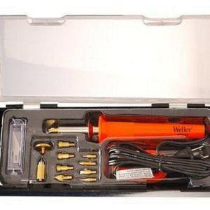 Pirografo Professionale Kit con 15 pezzi e astuccio Weller WHK30EU