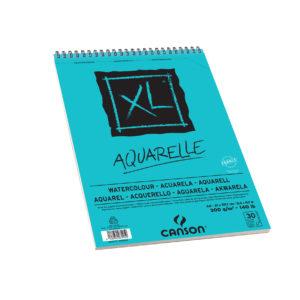 ALBUM CANSON XL AQUERELLE – A4 300gr 30FOGLI