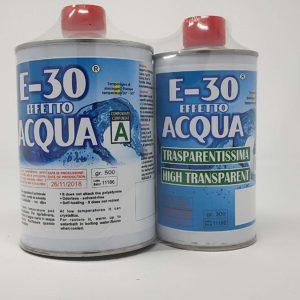 Resina E-30 effetto acqua bicomponente Prochima