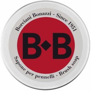 Borciani e Bonazzi Sapone Vegetale per Pennelli Detergente Belle Arti 100g