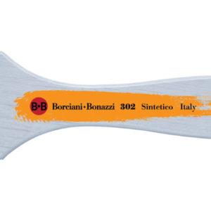 Pennellessa sintetico oro serie 302 – Borciani e Bonazzi