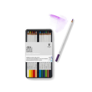 Colour pencils studio Winsor and Newton set da 12