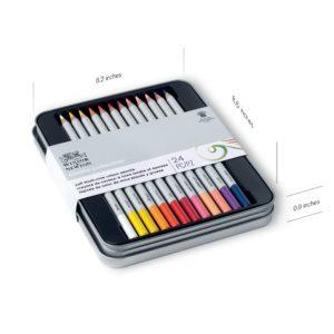 Colour pencils Studio Winsor and Newton set da 24