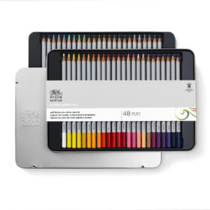 Colour pencils Studio Winsor and Newton set da 48