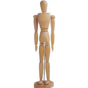 Manichino in legno – altezza 31 cm