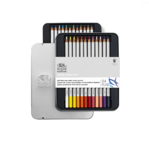 Watercolour pencils Winsor and Newton set da 24