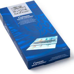 Winsor and Newton – cotman confezione 45 1/2 godet