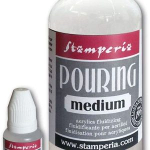 Medium Pouring Stamperia 500 ml – con olio di silicone