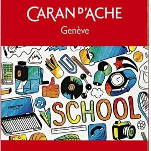 Caran D'ache colour pencils for school – set da 12