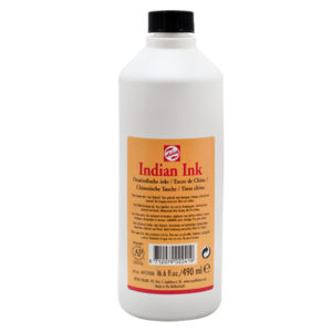 Indian ink Royal Talens – inchiostro di china di alta qualità da 490 ml