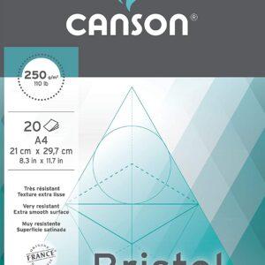 Canson Album Bristol – 250gr extraliscio da 20 fogli
