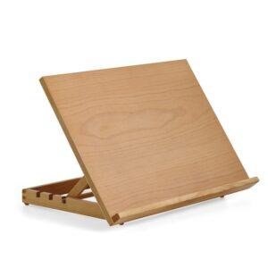Cavalletto leggio da tavolo in legno formato A2