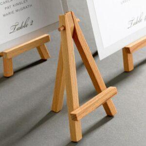 Mini cavalletto in legno – altezza 10,5 cm